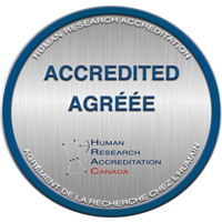 Human Research Accreditation Canada Accreditation Badge